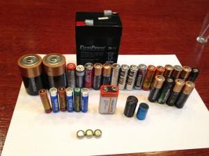 Батарея батареек