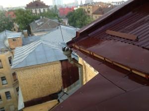 Отремонтированная крыша