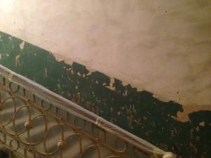 Такими стены нашего дома были прежде...