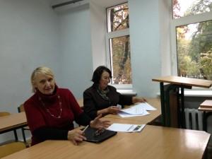 Рабочий момент Общего собрания жильцов 14 сентября 2013 года