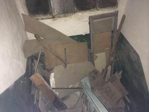 """Виды на """"черной"""" лестнице нашего дома: """"фрагмент"""""""