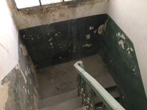 """Однажды мы уже очищали """"черную"""" лестницу от мусора, однако до идеального состояния ей еще очень далеко"""