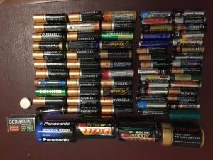 Новая батарея старых батареек.