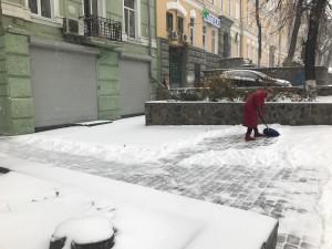 Первый снег в новом сезоне