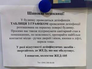 """Единственная услуга """"нашего"""" ЖЭка - размещение объявлений"""
